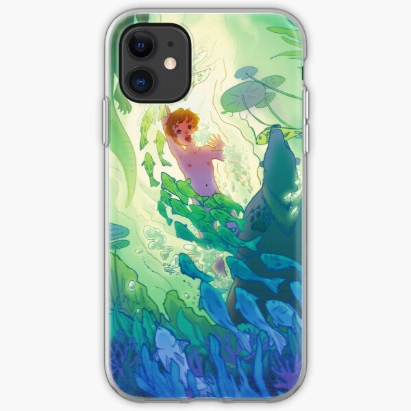 The Swamp Prince iPhone Soft Case