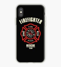 Firefighter Rescue Team iPhone Case