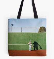 Drawing the Line Tote Bag