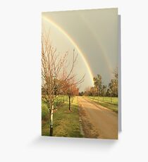 A Rainbow for Kay Greeting Card