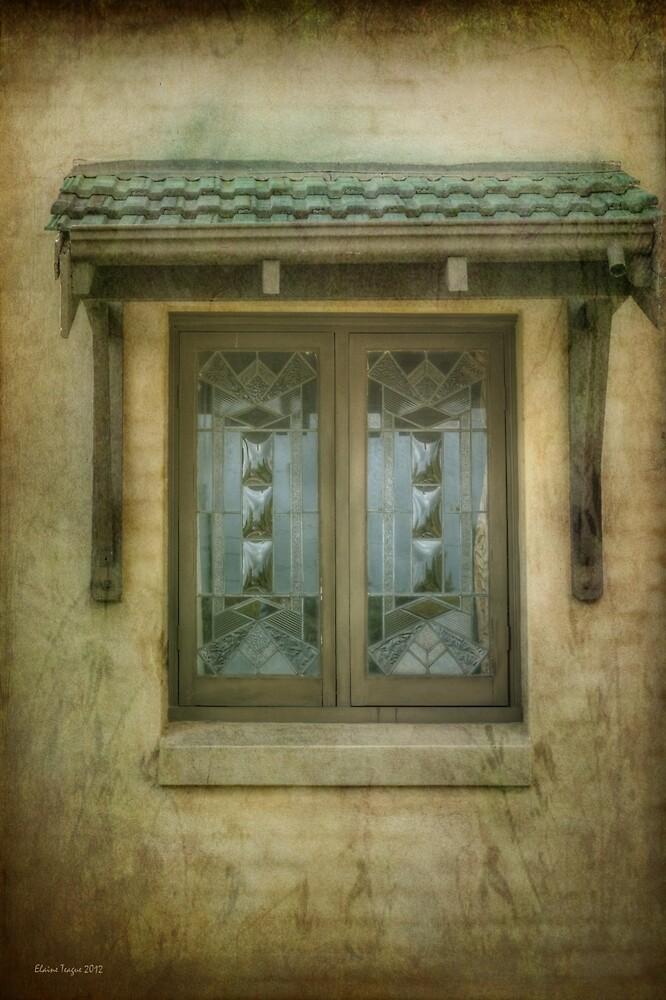 Quaint Window by Elaine Teague