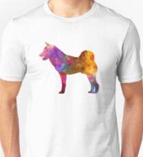 Shiba Inu in watercolor Unisex T-Shirt