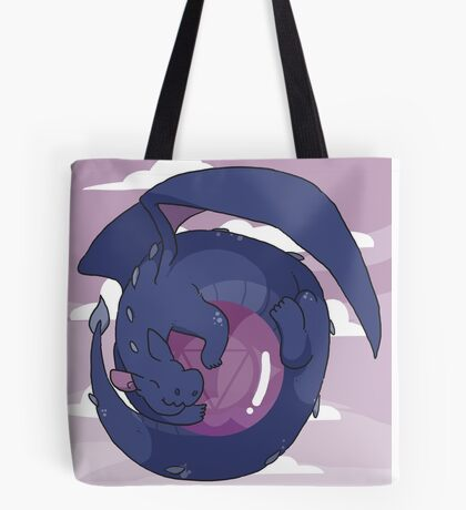 Amethyst Dragon Tote Bag