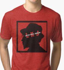 Camiseta de tejido mixto LKJ (Sombra)