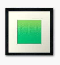 TriFade | Green Edition Framed Print