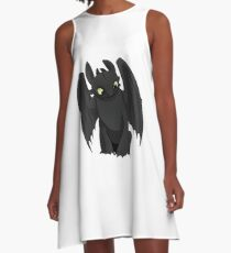 Toothless A-Line Dress