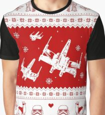 Nerd Pixel Christmas Graphic T-Shirt