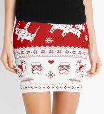 Nerd Pixel Christmas Mini Skirt