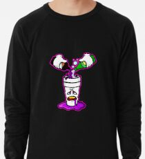 Pour Up in Lila Leichter Pullover
