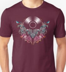 Grow - Music tee with Vintage Record Unisex T-Shirt