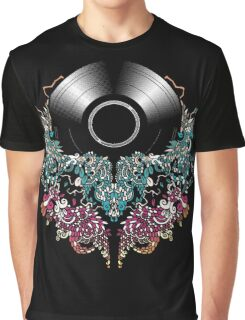 Grow - Music tee with Vintage Record Graphic T-Shirt