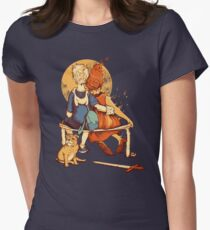 Rockwell Time Womens Fitted T-Shirt