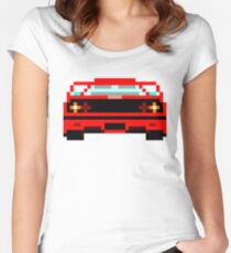 Iconic cars - Red Horse Women's Fitted Scoop T-Shirt