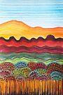 Perfect Pastels - Winter Sunrise by Georgie Sharp