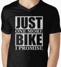 Just One More Bike I Promise Men's V-Neck T-Shirt
