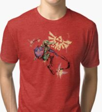 Warrior Graffiti Tri-blend T-Shirt