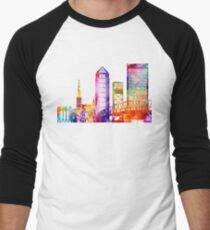 Jacksonville landmarks watercolor poster T-Shirt