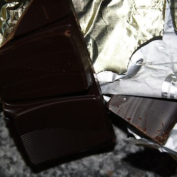 Chocolate  in wrapper by katdb