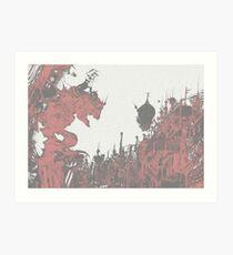 Terra-nigma Art Print