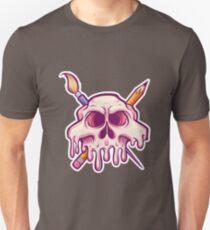 Painting SKull Unisex T-Shirt