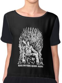 Hail to the King, Baby (Ash - Army of Darkness Chiffon Top