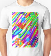 Wild snow flake colors T-Shirt