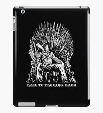 Hail to the King, Baby (Ash - Army of Darkness iPad Case/Skin