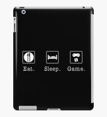 Eat. Sleep. Game. - Original iPad Case/Skin