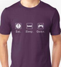Eat. Sleep. Game. - PlayStation Unisex T-Shirt