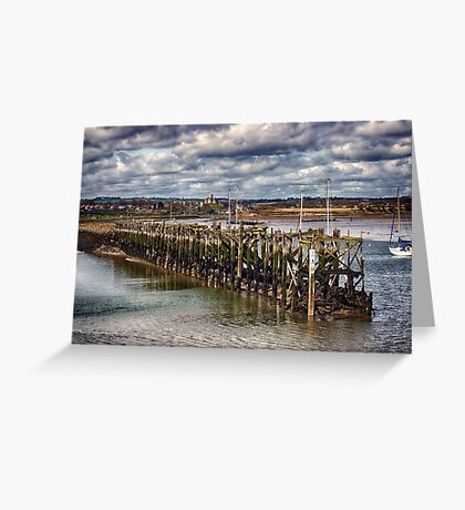 The End Of The Jetty Greeting Card