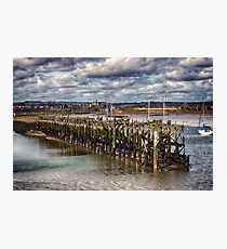 The End Of The Jetty Photographic Print