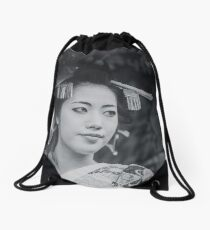 Off into the distance Drawstring Bag