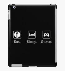Eat. Sleep. Game. - Xbox iPad Case/Skin