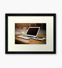 Home Office Framed Print