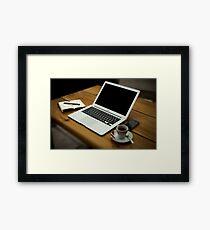 Home Office Framed Print