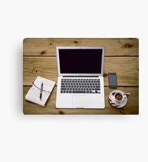 Home Office Canvas Print
