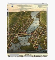 Map Of Mystic 1879 iPad Case/Skin