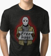 Free Hugs (Jason Voorhees) Tri-blend T-Shirt