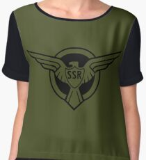 SSR Women's Chiffon Top