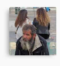 Hair Today...Gone Tomorrow Canvas Print
