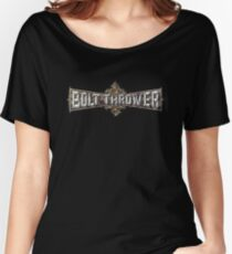 Bolt Thrower Cathedral Logo Women's Relaxed Fit T-Shirt