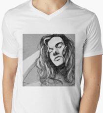 bw Men's V-Neck T-Shirt