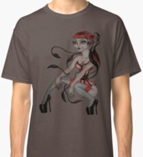 japanese tentacle hair  Classic T-Shirt