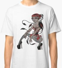 japanese tentacle hair  Classic T-Shirt
