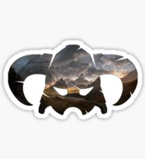 Skyrim Helmet Sticker