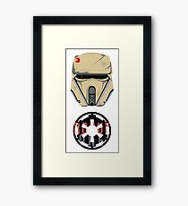 Beach Trooper Framed Print