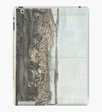 Vintage Pictorial Map of San Francisco (1854)  iPad Case/Skin