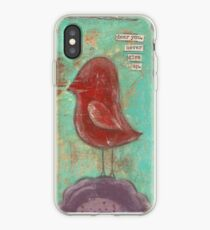 Dear you, never give up iPhone Case