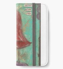 Dear you, never give up iPhone Wallet/Case/Skin