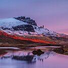 Loch Fada Reflections by Sandra Cockayne